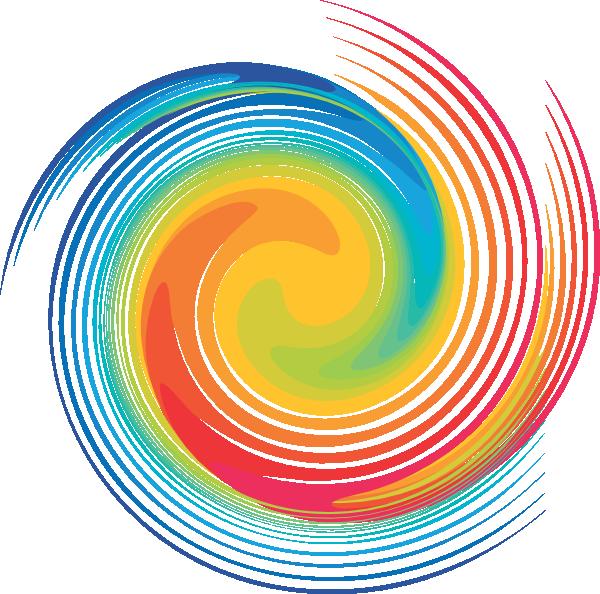 spiral rainbow - photo #44