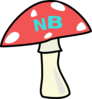 Red Top Mushroom Clip Art