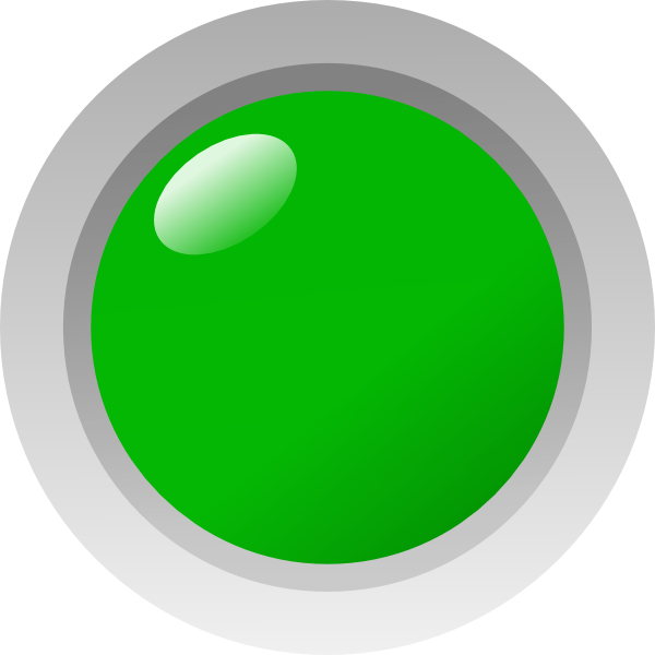 Green Led On Labview Style Clip Art At Clker Com