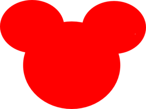 Mickey Mouse Outline Clip Art