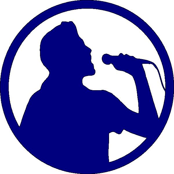 karaoke singer clip art at clker com vector clip art online rh clker com singer clipart gif singer clipart gif