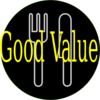 Good Value Dining Clip Art