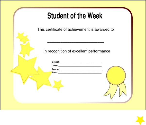 star of the week poster template - student of the week graphics pictures to pin on pinterest
