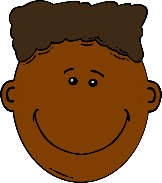 Black Boy With Flattop Clip Art At Clker Com Vector Clip
