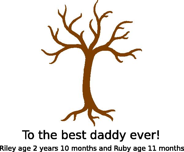 handprint tree clip art at clker com