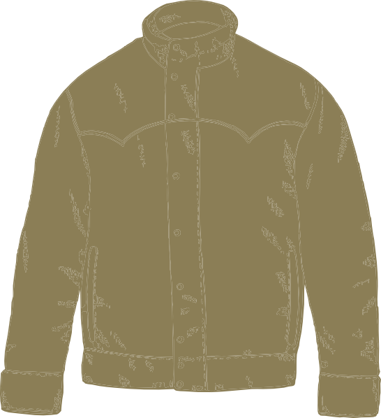 clipart of a jacket - photo #33