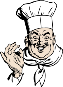 Happy Chef Clip Art