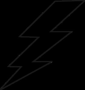 balck lightning bolt clip art at clker com vector clip art online rh clker com lightning bolt vector art lightning bolt vector image