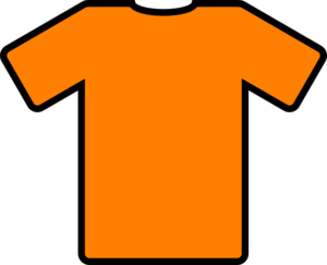 Orange T-shirt Clip Art Clip Art