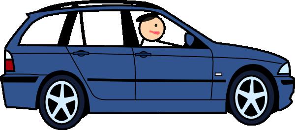 Driving Car Cliparts