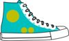Hightop Shoe Clip Art