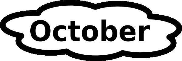 October 2017 Calendar Transparent