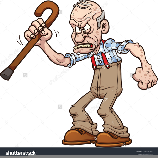 free grumpy old man clipart free images at clker com vector clip rh clker com old man clip art silhouette old man clipart cooking at stove