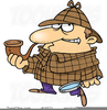 Sherlock Holmes Clipart Image