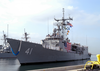 Uss Mcclusky (ffg 41) Pulls Into Her Berth At Naval Station San Diego Image