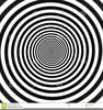 Hypnotic Spiral Clipart Image