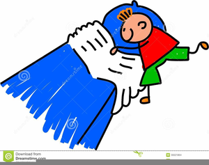 Making Bed Clipart Free Image