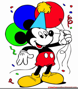 Mickey Mouse New Years Clipart Image
