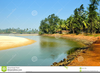 Free River Bank Clipart Image