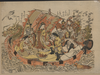 Seven Gods Of Good Fortune In The Treasure Boat. Image