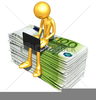 Online Banking Clipart Image