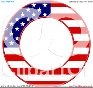 Free Clipart Of American Flag Borders Image