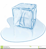 Ice Cube Illustration Clipart Image