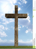 Clipart Of Wooden Crosses Image
