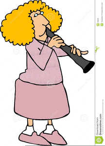 Clarinet And Free Clipart Image