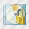 Icon Cd Box Locked Image