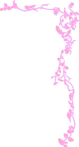 Pink Border Clip Art At Clker Com Vector Clip Art Online