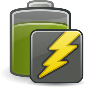 Charging High Battery Clip Art