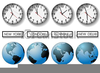 Free Clipart Of Time Clocks Image