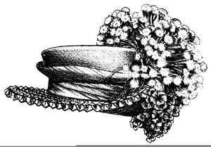 Free Flower Clipart Black And White Image