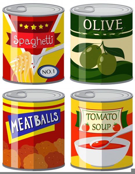 Free Clipart Cans Of Food Free Images At Clkercom Vector Clip