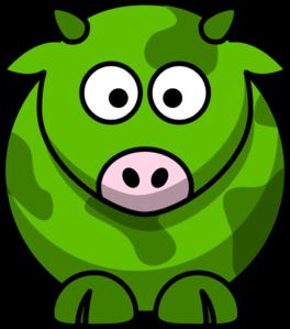 green cow 2 clip art at clker com vector clip art online free clipart horse head clip art horse head profile