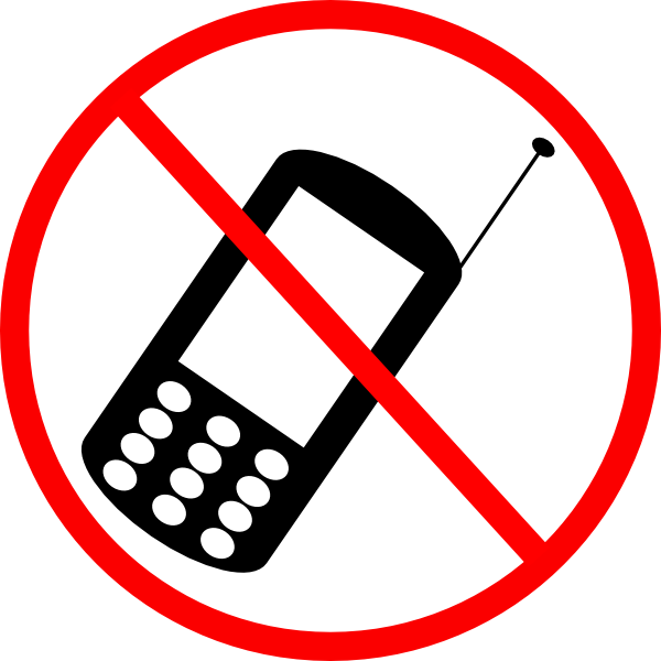 No Cellphone Clip Art at Clker.com - vector clip art ...
