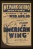A Federal Theatre Project Presentation  American Wing  A Pulsating New England Drama By Talbot Jennings Clip Art