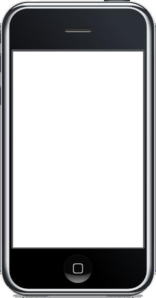 Iphone Clip Art At Clker Com Vector Clip Art Online