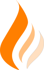 Orange Flame Clip Art