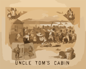 Uncle Tom S Cabin Clip Art