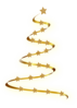 Gold Christmas Tree Clip Art