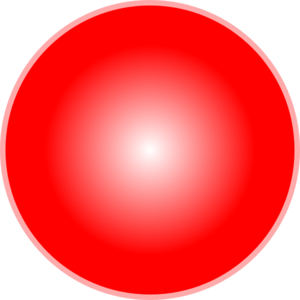 3d Strong Red Ball Clip Art