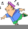 Moving Dancing Clipart Image