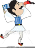 Greek Evzone Clipart Image