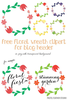 Free Clipart For Blog Headers Image