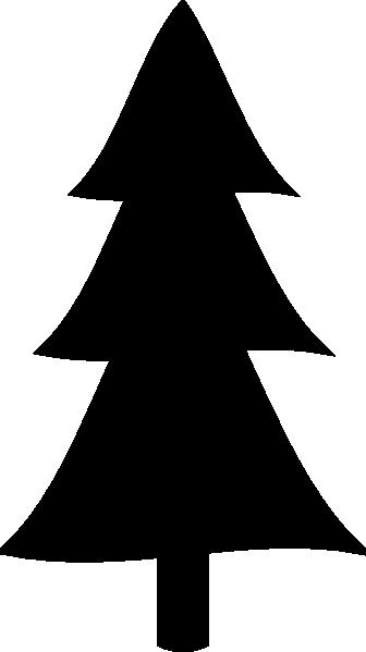 Black Christmas Tree Clip Art at Clker.com - vector clip art online, royalty free & public domain
