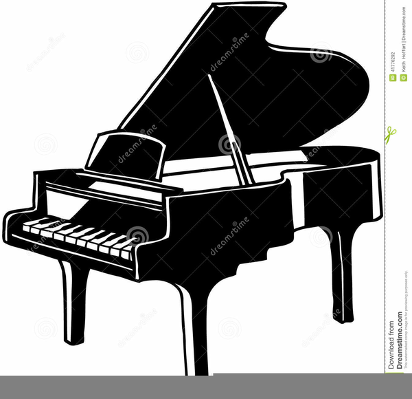 klavier clipart  free images at clker  vector clip