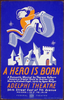 A Hero Is Born  A Romantic Musical By Theresa Holburn - Based On An Original Story By Andrew Lang : Music By A. Lehman Engel - Lyrics By Agnes Morgan / Halls. Image