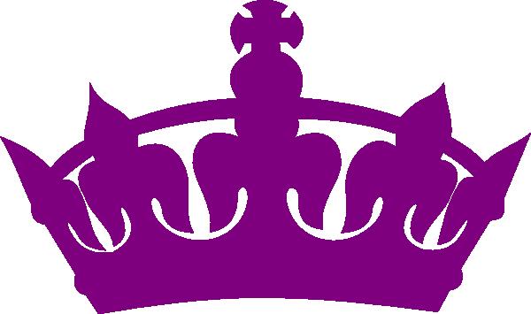 Black Royal Crown Silh...